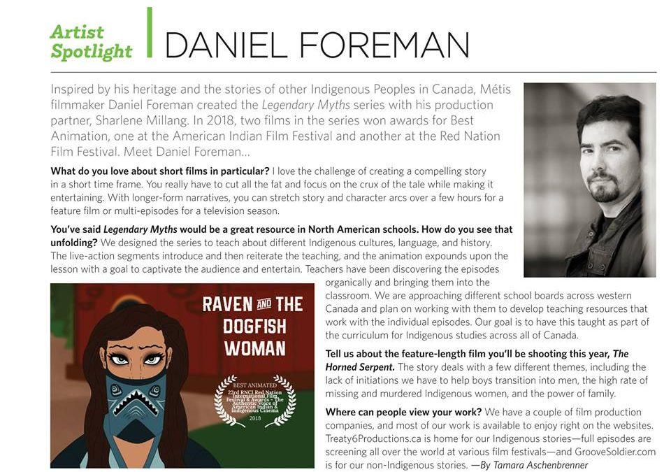 Artist Spotlight in Where Edmonton Magazine